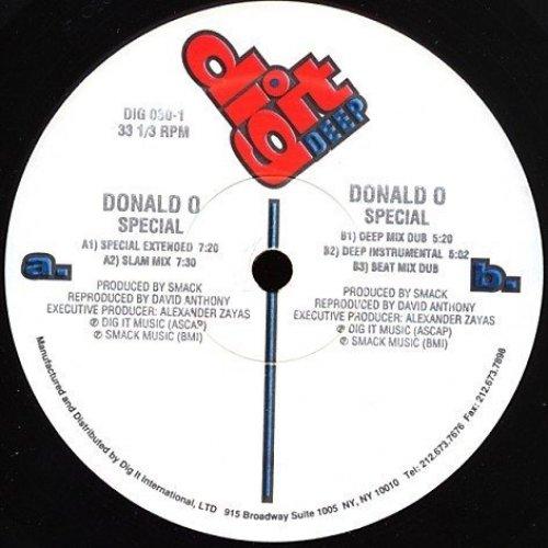 """Bild 1: Donald """"O"""" (O'Connor), Special (David Anthony Remix)"""
