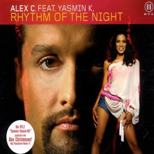 Bild 1: Alex C., Rhythm of the night (2002, feat. Yasmin K.)