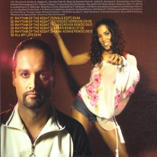 Bild 2: Alex C., Rhythm of the night (2002, feat. Yasmin K.)
