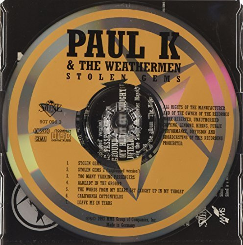Bild 2: Paul K & The Weathermen, Stolen gems