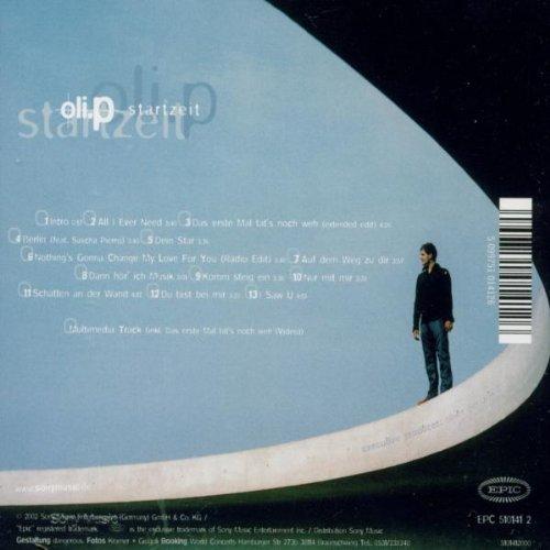 Bild 2: Oli. P, Startzeit (2002)