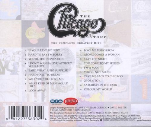Bild 4: Chicago, Story-The complete greatest hits (2002)