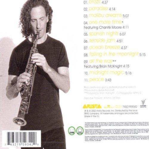 Bild 2: Kenny G, Paradise (2002)