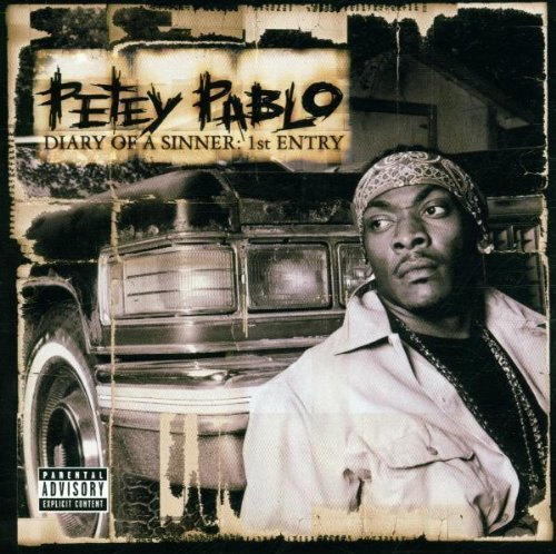 Bild 1: Petey Pablo, Diary of a sinner: 1st entry (2001)
