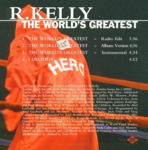 Bild 2: R. Kelly, World's greatest (2001, #9253142)