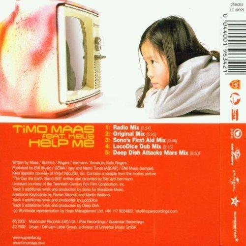 Bild 2: Timo Maas, Help me (2002, feat. Kelis)