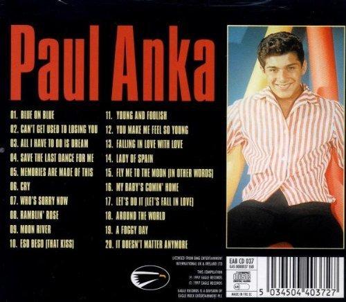 Bild 2: Paul Anka, Masters-20 classic tracks (1997)