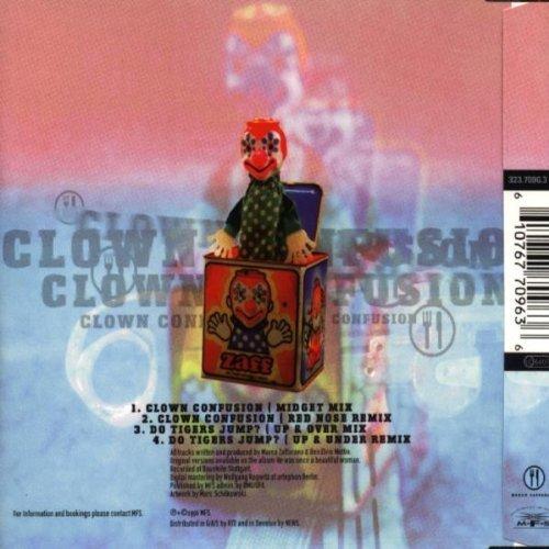 Bild 2: Marco Zaffarano, Clown confusion (4 tracks, 1996)