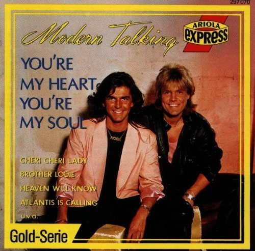 Bild 1: Modern Talking, You're my heart you're my soul (compilation, 16 tracks, 1988)