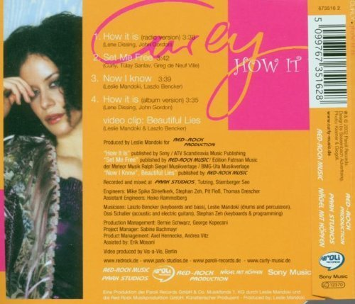 Image 2: Curly, How it is (2002, incl. video of 'Beautiful lies')
