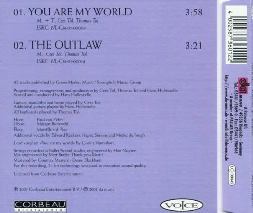Фото 2: Tol & Tol, You are my world (2001; 2 tracks)