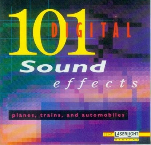 Bild 1: 101 digital Sound Effects, Planes, trains and automobiles