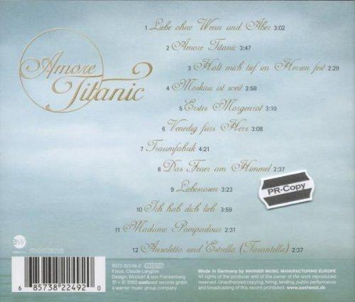 Bild 2: Astrid Harzbecker, Amore Titanic (2000)
