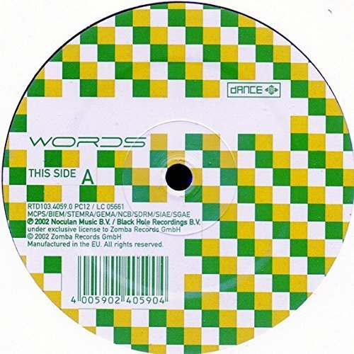 Bild 1: Dance Nation, Words (Noémi/Magik Muzik Remixes, 2002)