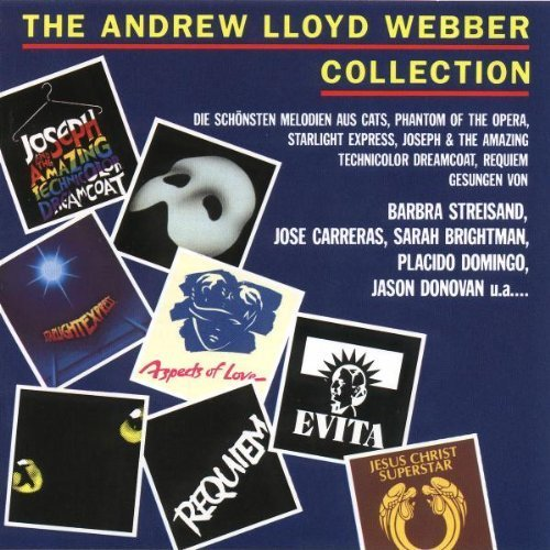 Bild 1: Andrew Lloyd Webber, Collection (1992, v.a.: Sarah Brightman, Barbra Streisand, Jason Donovan..)