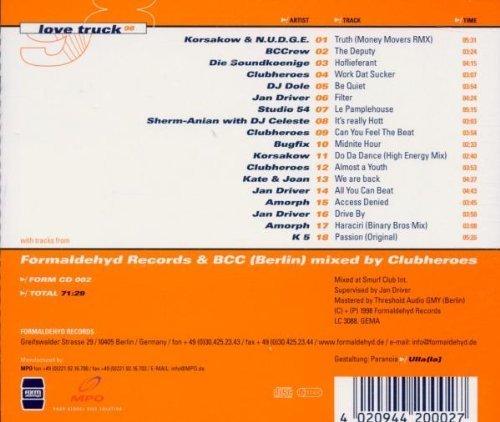 Bild 2: Clubheroes, Love_truck 98 (mix, feat. DJ Dole, Jan Driver, Studio 54, Amorph..)
