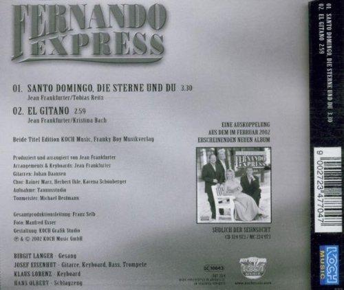 Bild 2: Fernando Express, Santo Domingo, die Sterne und ich (2002; 2 tracks)