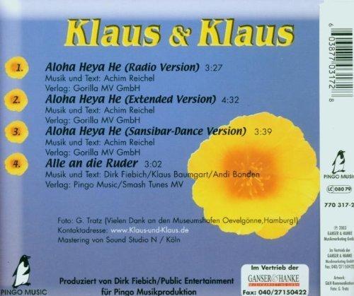 Bild 2: Klaus & Klaus, Aloha heya he (2003)