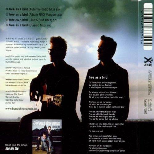 Bild 2: Band ohne Namen, Free as a bird (2002)