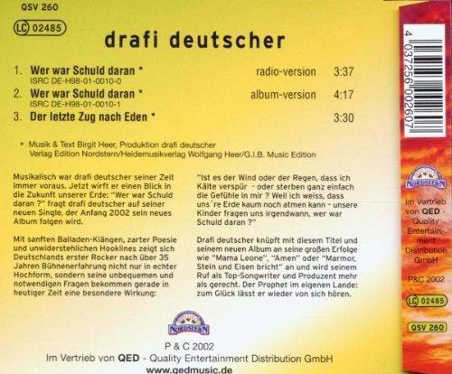 Фото 2: Drafi Deutscher, Wer war schuld daran? (2002)