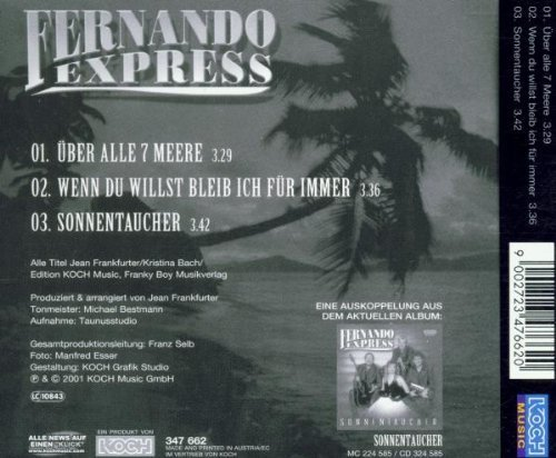 Bild 2: Fernando Express, Über alle 7 Meere (2001)