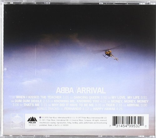 Bild 2: Abba, Arrival (1976; 12 tracks)