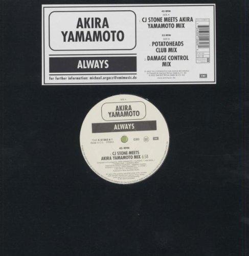 Bild 1: Akira Yamamoto, Always (CJ Stone meets Akira Yamamoto/Potatoheads Club/Damage Control Mixes, 2002)