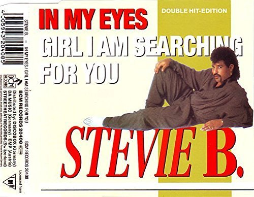 Image 1: Stevie B., In my eyes (Radio Mix/In my House, plus 'Girl I am searching for you [Short/Moon Mixes]')