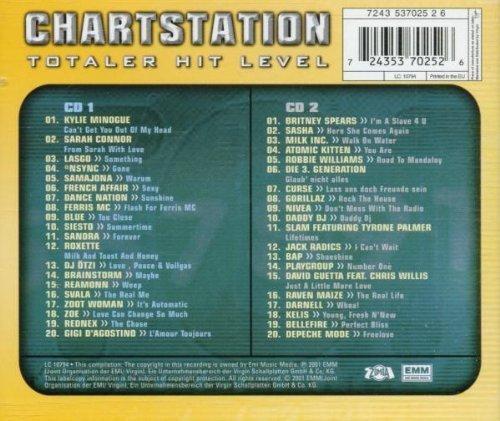 Bild 2: Chartstation-Totaler Hit Level (2001), Kylie Minogue, Sarah Connor, Lasgo, *Nsync, Sandra..