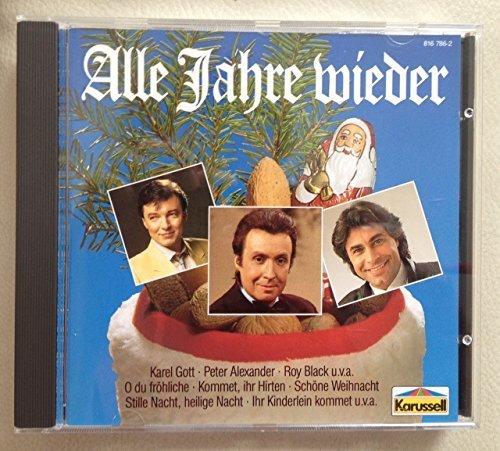 Bild 1: Alle Jahre wieder (1966-79, Karussell), Tölzer Knabenchor, Peter Alexander, Wencke Myhre, Roy Black, Vicky Leandros..