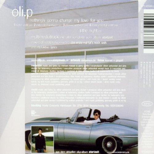 Bild 2: Oli. P, Nothing's gonna change my love for you (2002, feat. Tina Frank)