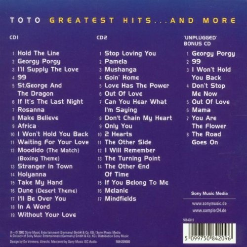 Bild 2: Toto, Greatest hits..and more (2002)