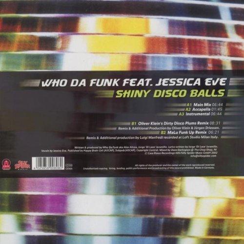 Bild 2: Who da Funk, Shiny disco balls (5 versions, 2002, feat. Jessica Eve)