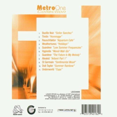 Bild 2: Metro Collection 1, Bazille Noir, Timlin, Rauschfaktor, Alexkid, St. Germain, Dub Taylor..