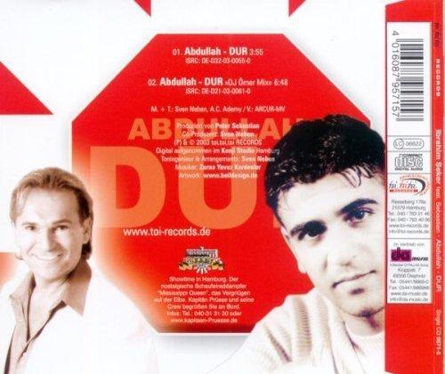 Bild 2: Ibrahim Seker, Abdullah-Dur (2 tracks, 2003, feat. Sebastian)