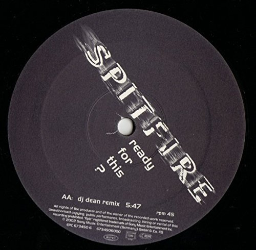 Bild 1: Spitfire, Ready for this? (Staccato Club, 2002)