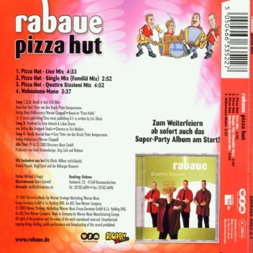 Bild 2: Rabaue, Pizza Hut (2003)