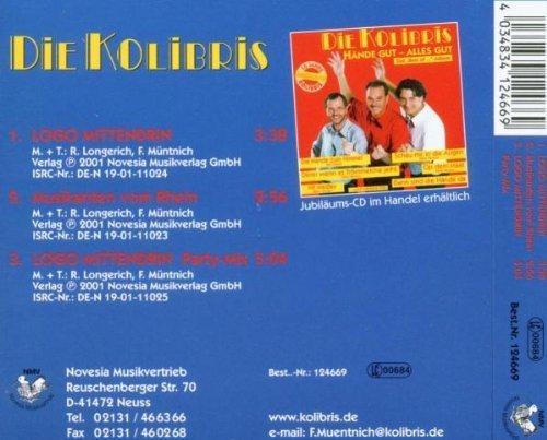 Bild 2: Kolibris, Logo mittendrin (incl. Party-Mix, 2001)