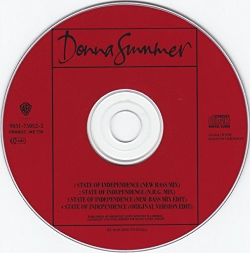 Bild 2: Donna Summer, State of independence-New Bass Mix (4 versions, 1990)