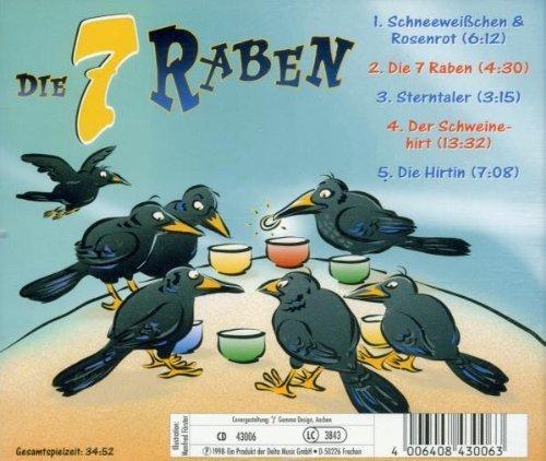 Bild 2: Die 7 Raben, /Schneeweißchen & Rosenrot/Sterntaler/Der Schweinehirt/Die Hirtin