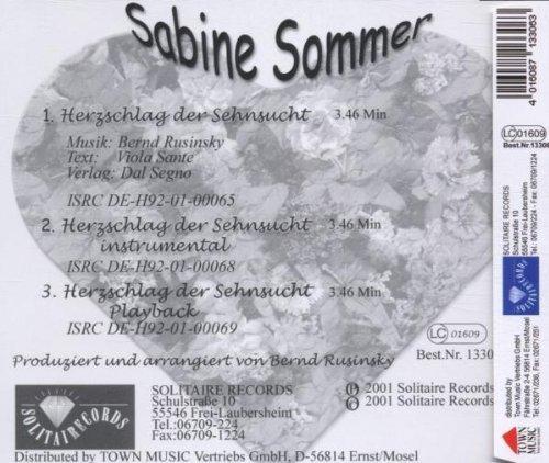 Bild 2: Sabine Sommer, Herzschlag der Sehnsucht (2001)