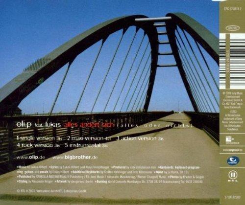 Bild 2: Oli. P, Alles ändert sich.. (2003, feat. Lukas)