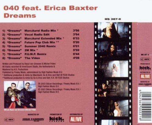 Bild 2: 040, Dreams (2003, feat. Erica Baxter)