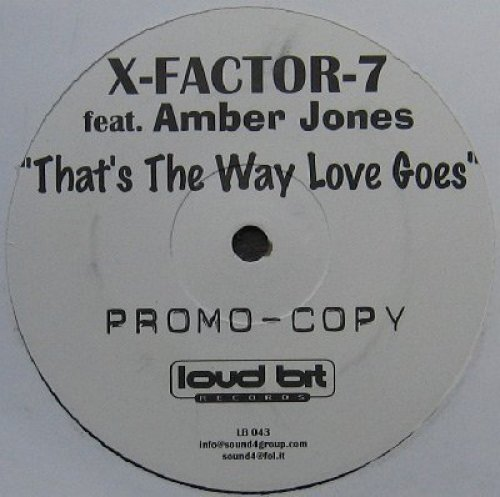 Bild 1: X-Factor Z, That's the way love goes (Urban to Phlayva Mix, feat. Amber Jones)