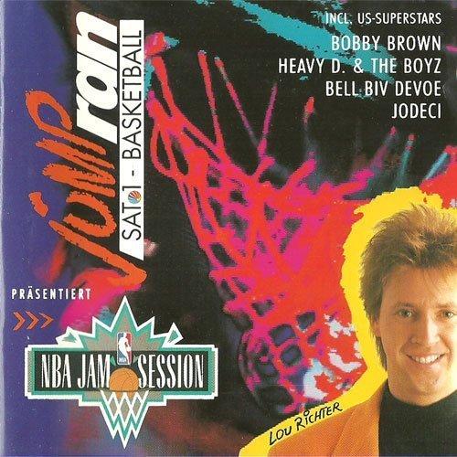 Bild 1: Jump ran-SAT.1-Basketball-NBA Jam Session (1994), Eric B. & Rakim, Bell Biv DeVoe, Jodeci, Wreckx-n-Effect..