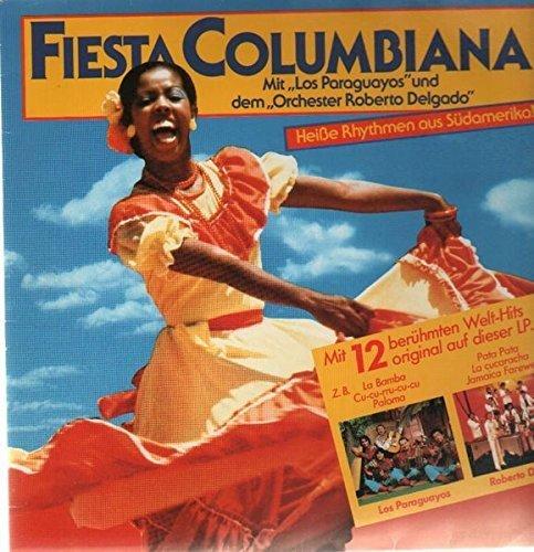Bild 1: Los Paraguayos, Fiesta Columbiana (split compialation & Roberto Delgado [Orch.])