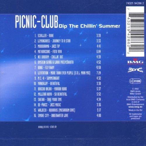 Bild 2: Picnic-Club-Dip the chillin' Summer (2002), Schiller, Lemongrass, Mo'horizons, Boozoo Bajou, Waldeck..