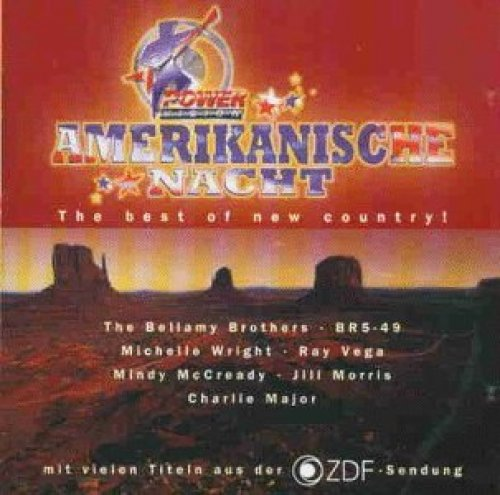 Bild 1: Power Vision-Amerikanische Nacht-Best of New Country (1996), Diamond Rio, Brooks & Dunn, Br5-49, Michelle Wright, Ray Vega..