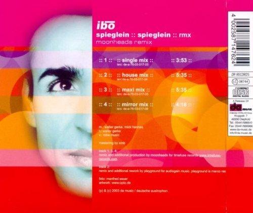 Bild 2: Ibo, Spieglein, Spieglein-Moonheads Remix (2003)