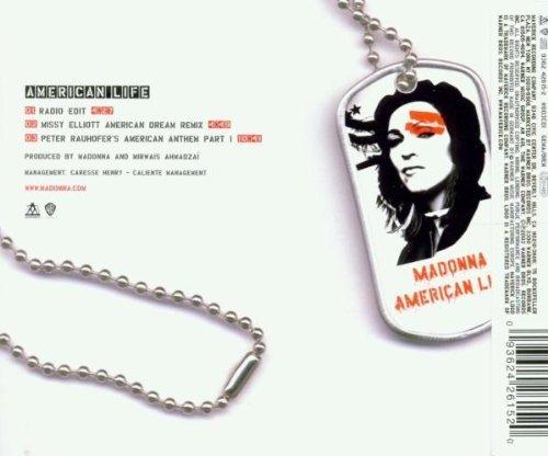 Bild 2: Madonna, American life (2003, CD1)